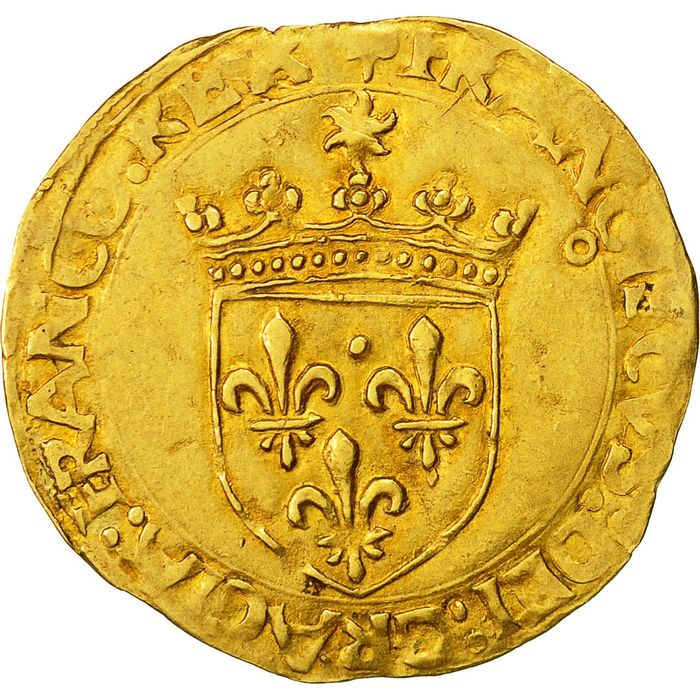 France - François I (1515-1547) - Ecu d'or au soleil (Toulouse) - Or