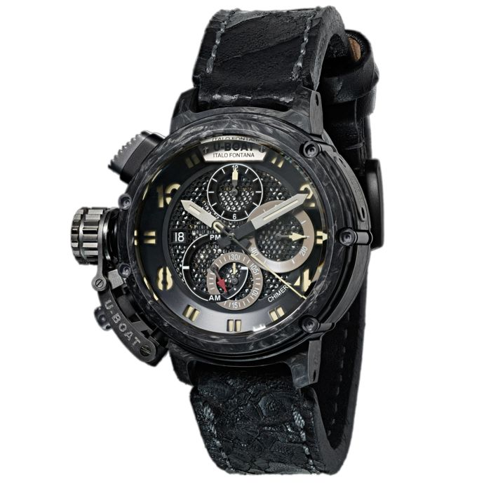 U-Boat - Chimera 46 Chronograph Carbonio Watch Limited Edition - 8057 - Uomo - Brand New