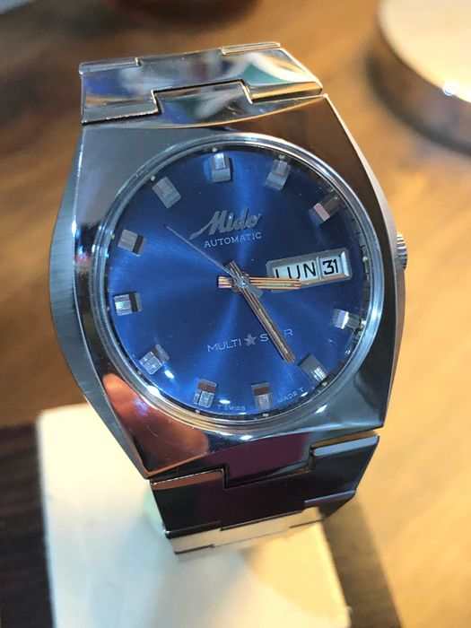 """Mido - Multistar - """"NO RESERVE PRICE"""" - Homme - 1970-1979"""