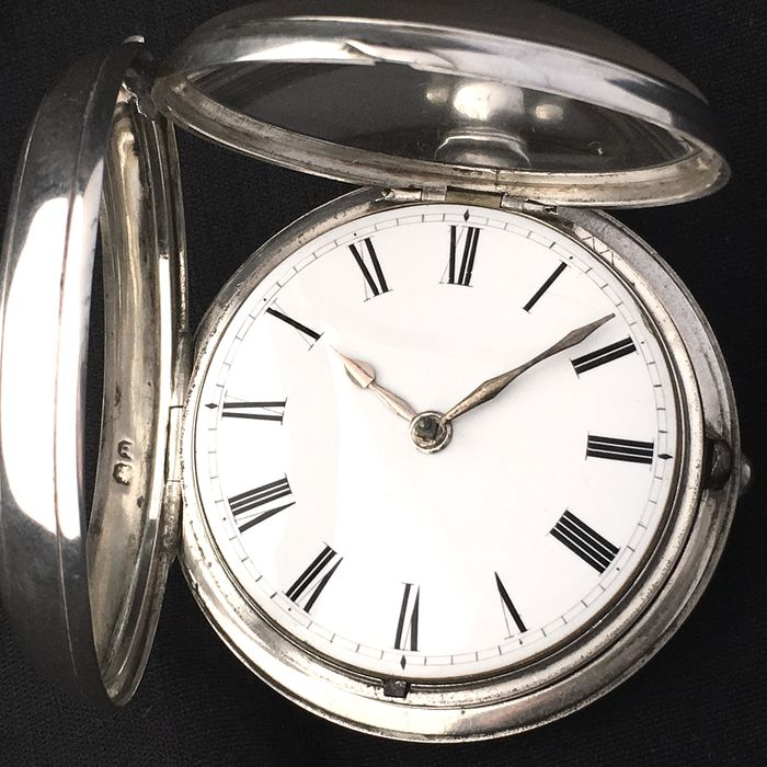 Large Verge Fusee Pocket watch - Heren - 1790