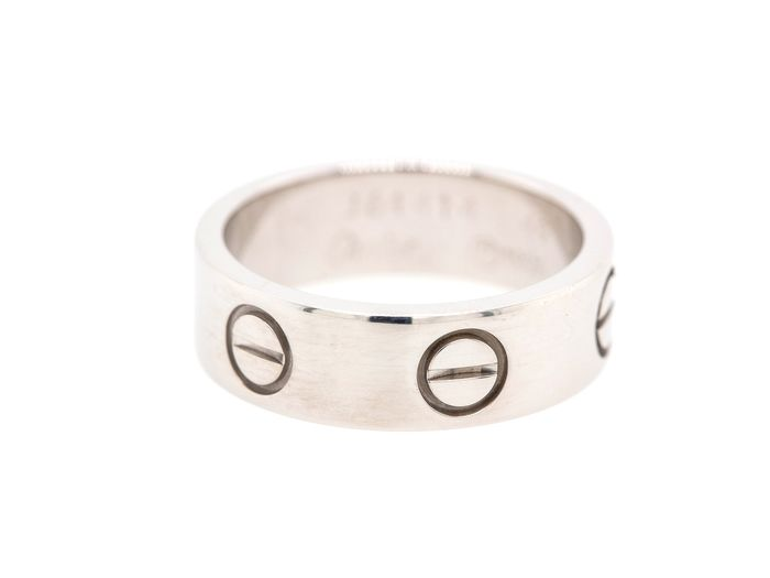 Cartier love - 18 kt. White gold - Ring