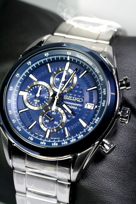 Seiko - Quartz Chronograph - new 2 years warranty - Homme - 2011-aujourd'hui