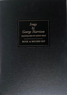 "George Harrison - ""Songs By George Harrison""Limited Signed Edition - CD (ψηφιακός δίσκος), Βιβλίο - 1987/1987"