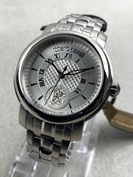 """Roberto Cavalli By Franck Muller - Classic Steel - RV1G066M0061 - """"NO RESERVE PRICE"""" - Hombre - 2011 - actualidad"""