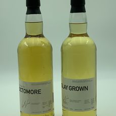 Octomore Futures 2002 1st Release &  Islay Grown  - Original bottling - 70cl - 2 bouteilles