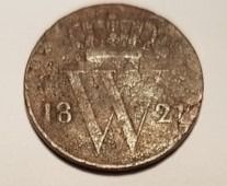 The Netherlands - 1/2 cent Cent 1821B Willem I - Copper