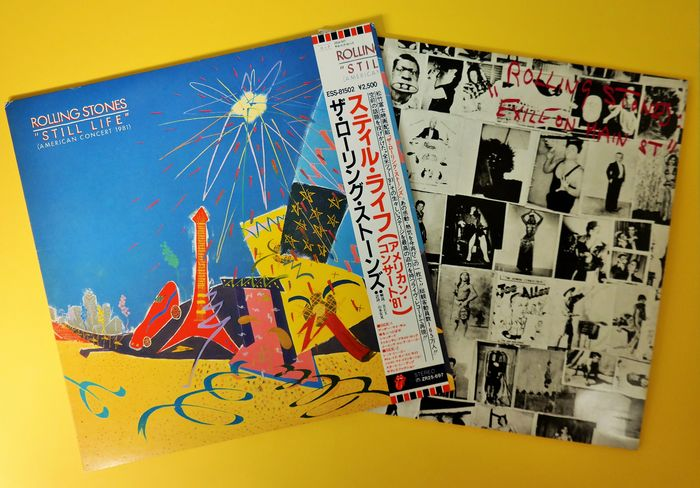Rolling Stones - Still Life(American Concert 81)the rare complet ones-LP Album-81 and the perfect Exile on mainstreet - Hanglemez (album) - 1981/1987