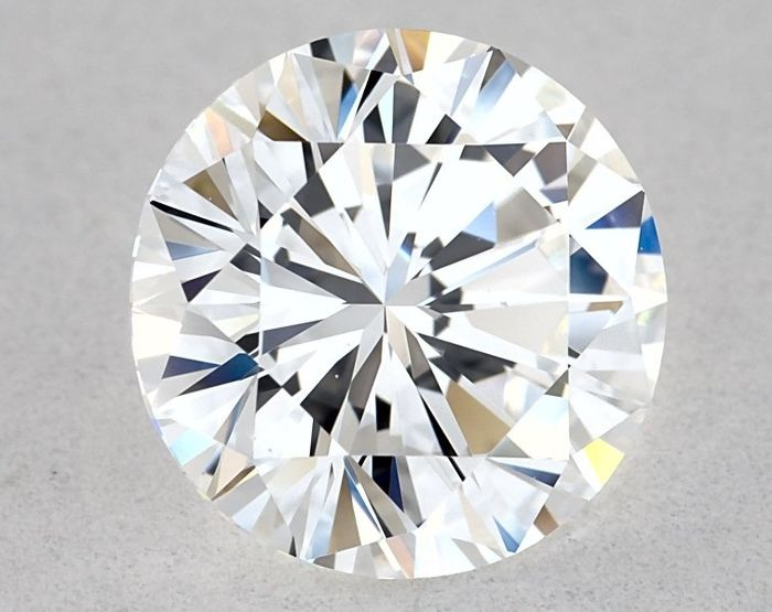 1 pcs Diamond - 1.45 ct - Brilliant, Round - E, GIA - VG/EX/VG - VS1, Low Reserve Price + Free Shipping