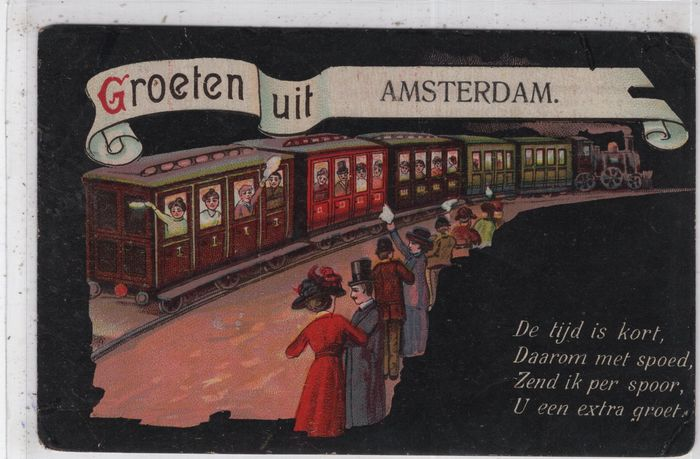 Netherlands - Amsterdam - Postcards (Collection of 92) - 1900-1960