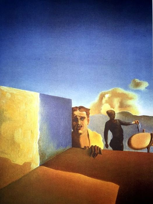 Salvador Dalí (After) - Barber Saddened by the Persistence of Good Weather