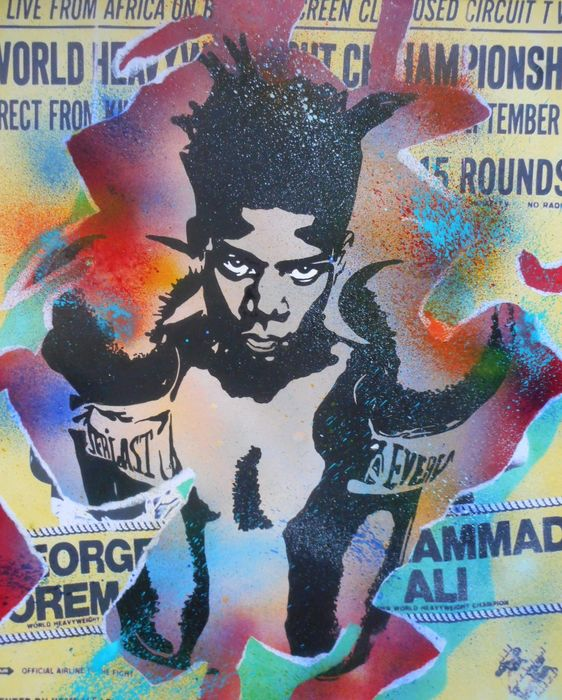 Erik-H - An another fight for Jean-Michel Basquiat