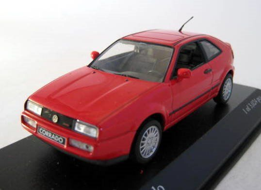 MiniChamps - 1:43 - Volkswagen Corrado G60 Red 1990 - Limited Edition - Mint Boxed - Factory Sold Out