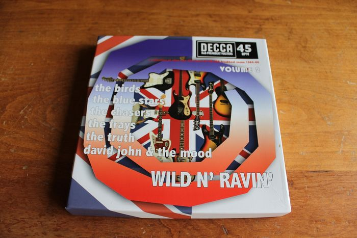 Various Artists/Bands in 1960's - Multiple artists - Decca RnB Freakbeat Masters • Wild N' Ravin' Volume 2 - 45 rpm Single, Box set - 2008