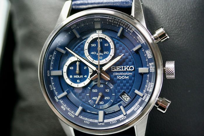 Seiko - Quartz Chronograph Cal. 8T67 - NEW 2 years warranty - Homem - 2011-presente