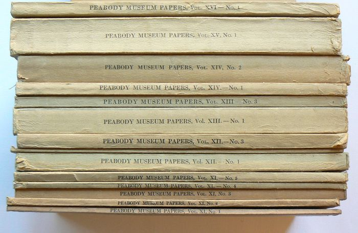 L.C. Dunn et al. - Papers of the Peabody Museum of American Archaeology and Ethnology, Harvard University - 1924/1937