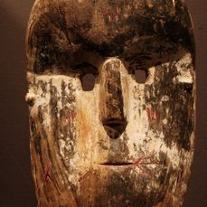 Mask - Wood - Provenance Donald Taitt - Ituri - Congo DRC
