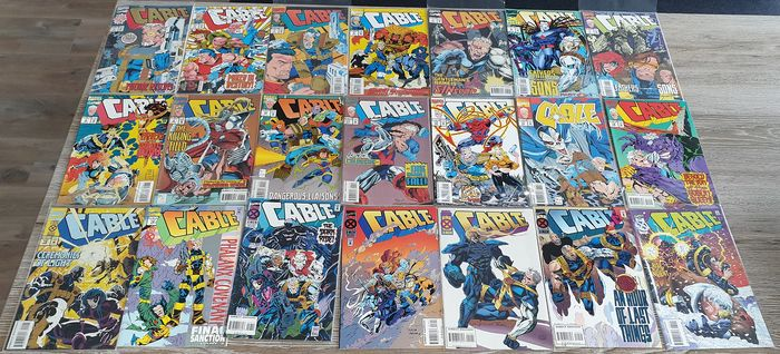 Cable 1 - 107 - Cable Vol. 1 #1 - 107 (near complete run) - Softcover - First edition - (1993/2002)