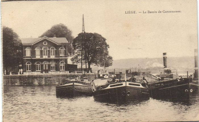 Belgium - Inland Shipping Ships - Div. Places, different types of ships for transporting goods and - Postcards (71) - 1910-1950