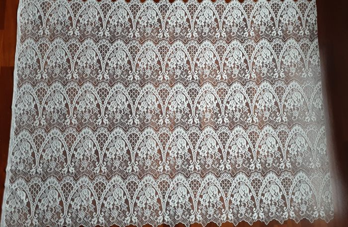 lace cloth (1) - Cotton - First half 20th century