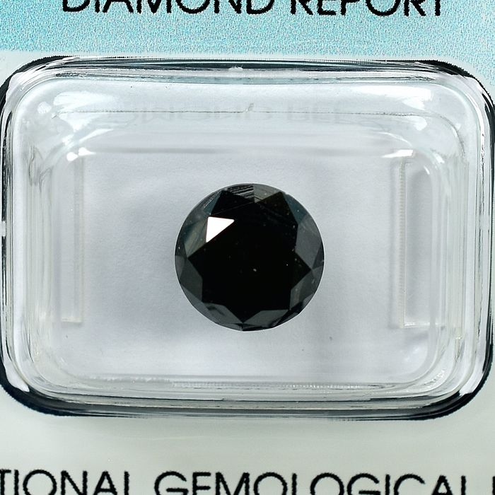 Diamond - 3.53 ct - Briliáns - Black - N/A
