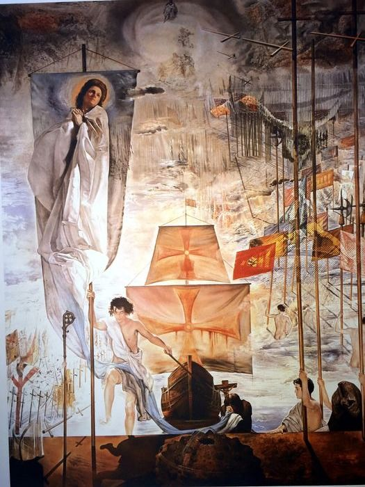 Salvador Dalí (After) - The Discovery of America by Christopher Columbus