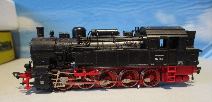 Fleischmann H0 - 4093 - Steam locomotive - BR 94 - DR (DRB), DRG