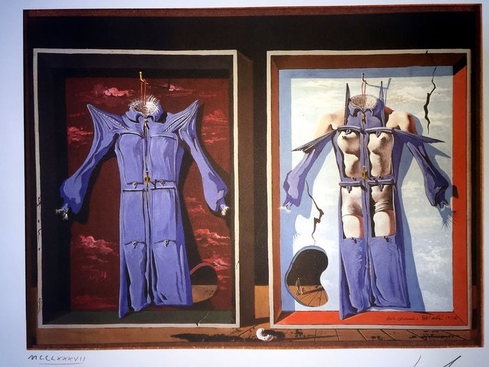 Salvador Dalí (After) - Night and Day Clothes of the Body