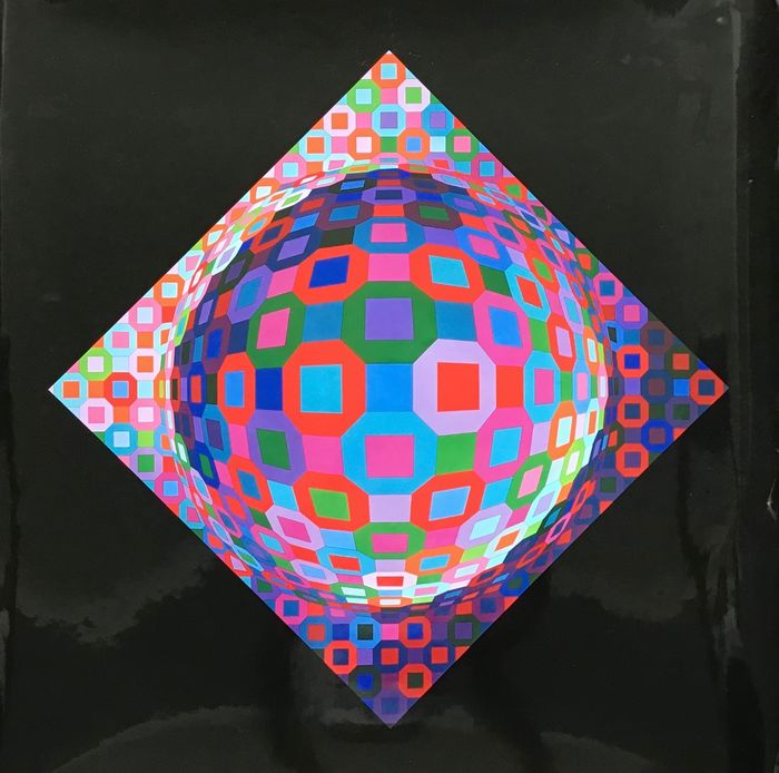 Victor Vasarely  - PLANETARY