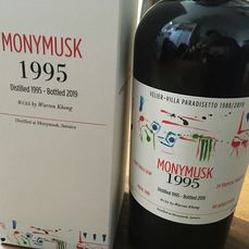 """Monymusk 1995 24 years old Velier - """"EMB"""" - Villa Paradisetto - b. 2019 - 70cl"""