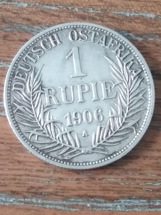 German East Africa - Rupie 1906 A - Silver