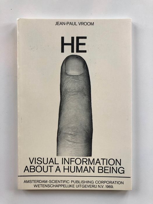 Jean-Paul Vroom - HE Visual Information About a Human Being - 1969