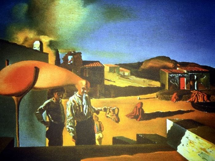 Salvador Dalí (After) - The Average Fine and Invisible Harp