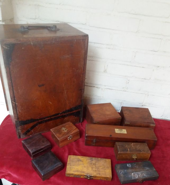 wooden boxes and crate (9) - Different types of wood