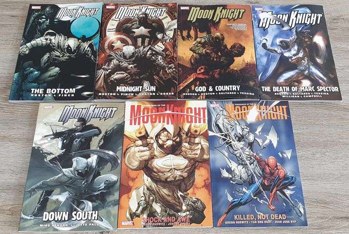Moon Knight - Huge Lof of TPB's - Moon Knight TPB #1 - 5 + Vengeance of the Moon Knight TPB #1 + 2 - Hardcover - First edition - (2006/2010)