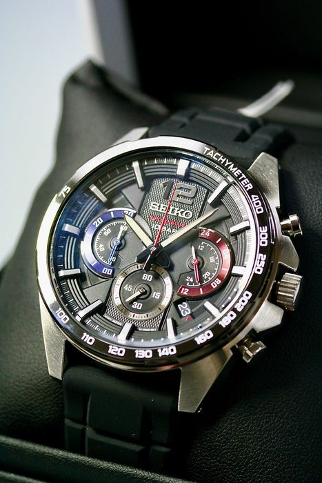 Seiko - Quartz Chronograph Race Collection - NEW 2 years warranty - Herren - 2011-heute
