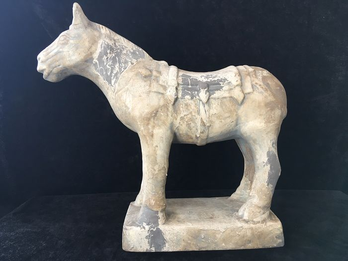 Sculpture, horse - Earthenware