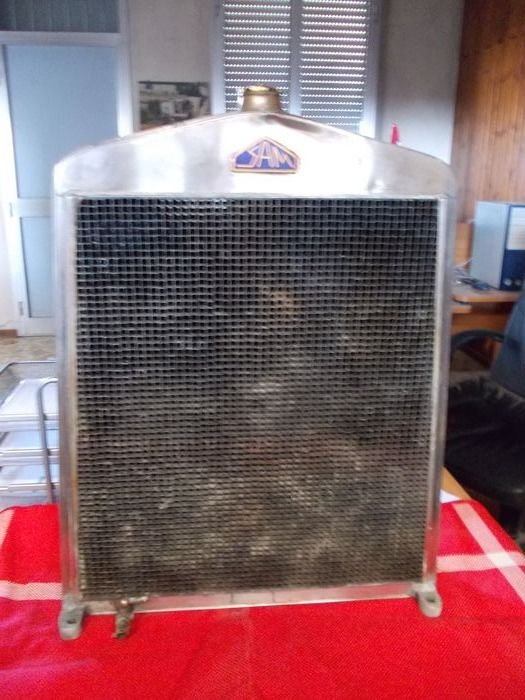 Parts - S.A.M. - radiator - 1926