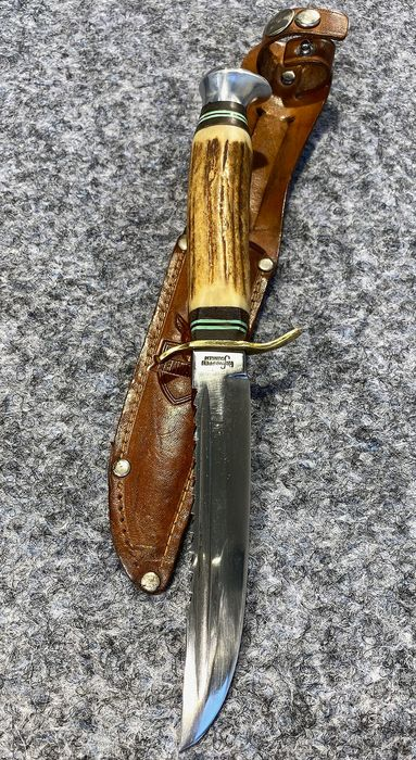 Duitsland - German Hunting Knife REHWAPPEN  SOLINGEN  - First Half Of 20th Century - Hunting - Mes