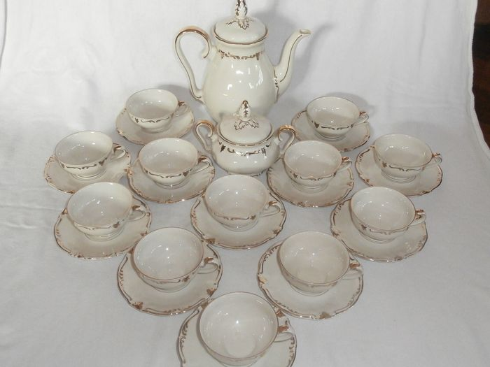 Winterling Bavaria - Tea or coffee service (28) - Porcelain