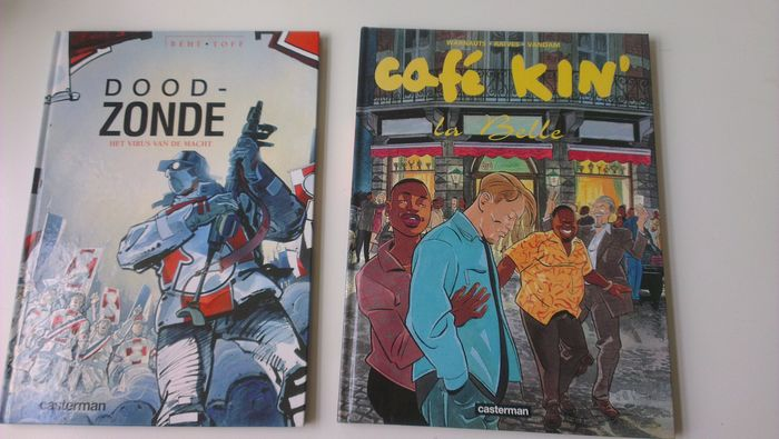 Casterman Hardcover reeks - Diverse titels - Hardcover - First edition