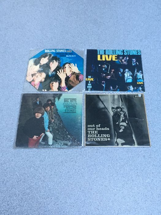 Rolling Stones - 4 LP Albums - Multiple titles - LP's - 1965/1969