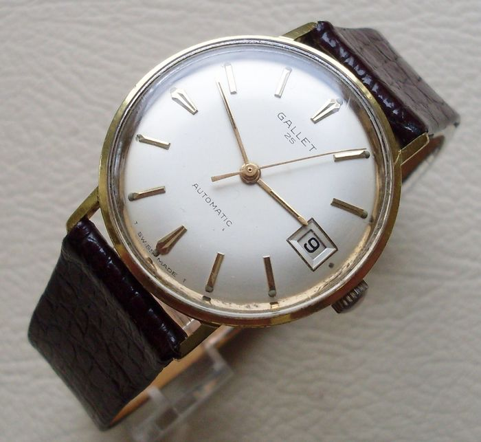 Gallet & Co. - Automatic 25 - Homme - 1960-1969