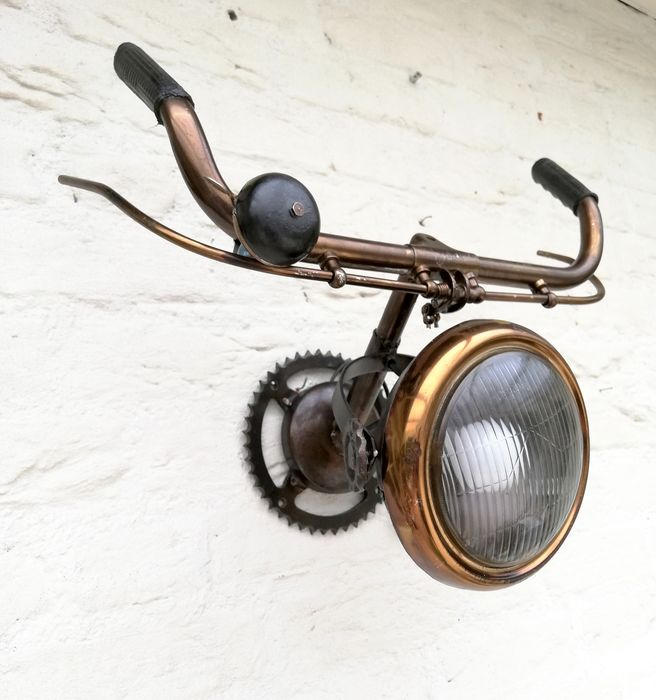 STB-ART - bicycle lamp - Oggetto decorativo - 2000