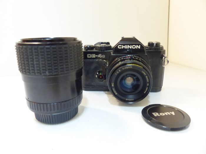 Chinon CE-4s + 2 objectifs