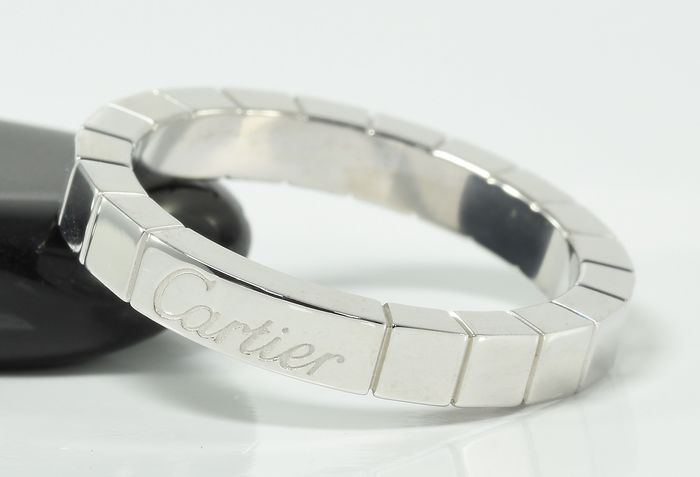 Cartier - 18 kt. White gold - Ring - 'Lanieres' - Excellent Condition