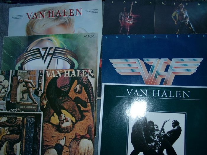 Van Halen - Multiple titles - LP's - 1979/1986