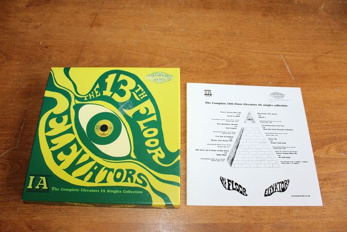 13th Floor Elevators - The Complete Elevators IA Singles Collection  - 45 rpm Single, Box set - 2014/2014