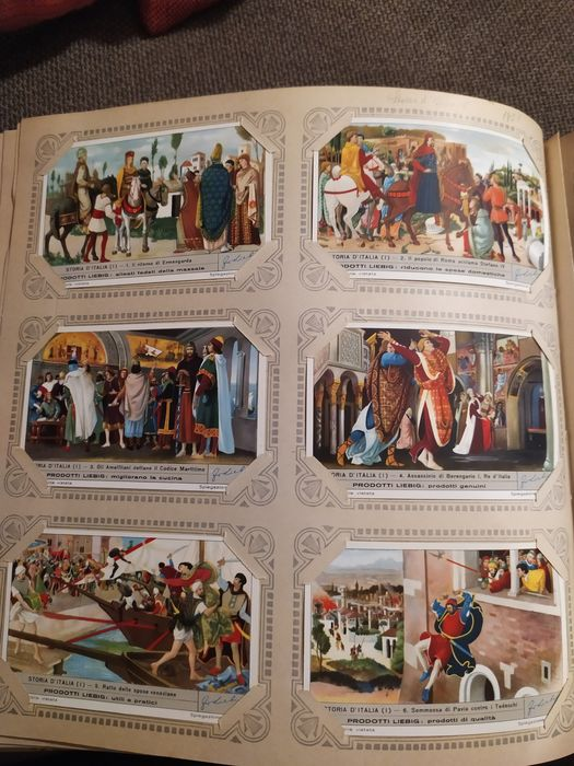 Liebig Album Figurine 348 pieces complete sets - 1905-1970