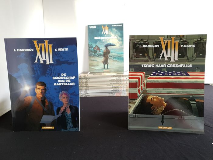 XIII - 1 t/m 23 + Mysterie 1 t/m 4 - Softcover - Different editions - (1985/2018)
