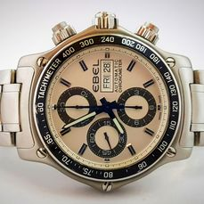 "Ebel - 1911 Discovery Chronograph FULL SET - ""NO RESERVE PRICE"" - Men - 2011-present"